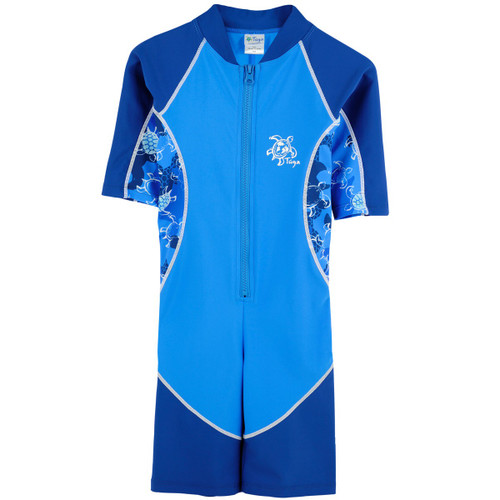 Tuga baby and boys uv swim suit all in one sapphire