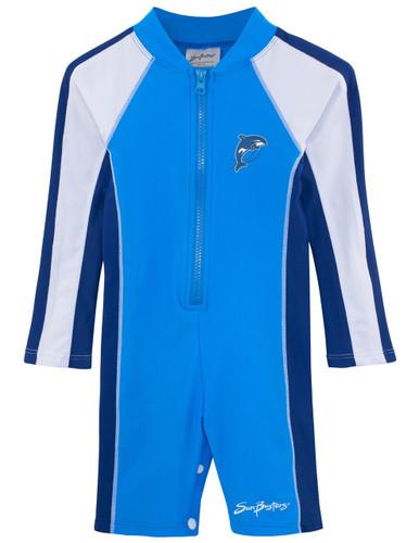 Boys Sun Busters UV 1-piece swim suit splash