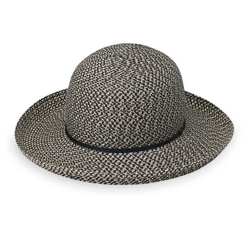 Womens Wallaroo Amelia UV Sun Hat mixed black