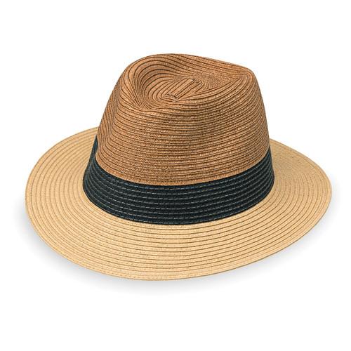 Mens Wallaroo St Tropez Fedora UV sun hat