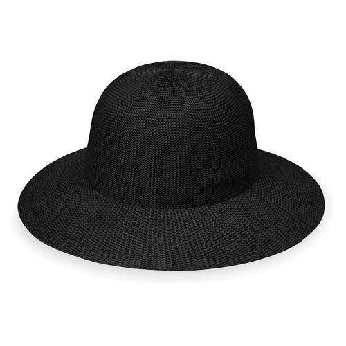 Wallaroo Victoria Sports sun hat black