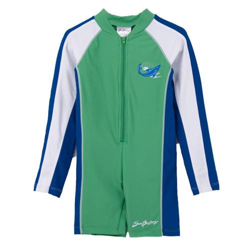 Boys Sun Busters long sleeve UV Swim suit mist-water