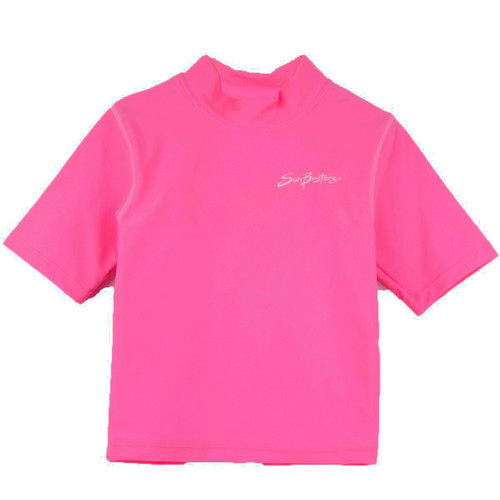 Girls Sun Busters UV Swim shirt s/s strawberry