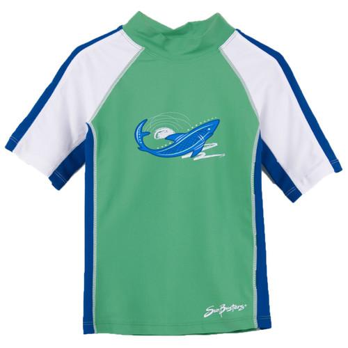 Boys Sun Busters UV Swim shirt mist_water
