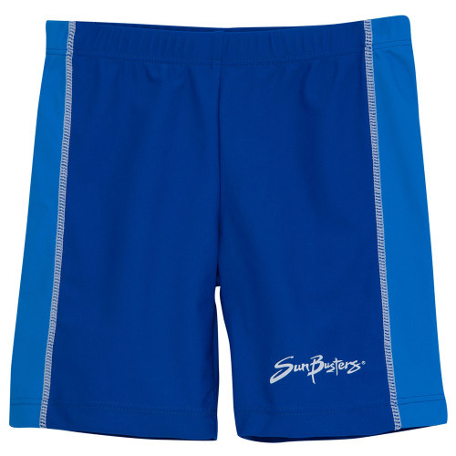 Boys Sun Busters uv swim rash shorts sea_sky