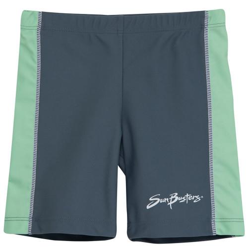 Boys Sun Busters uv swim rash shorts frost_ice