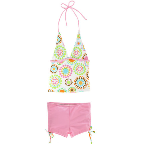 Sun Busters UV swim tankini lolly spot