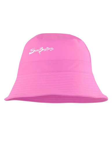 Girls Sun Busters UV Bucket hat flamingo