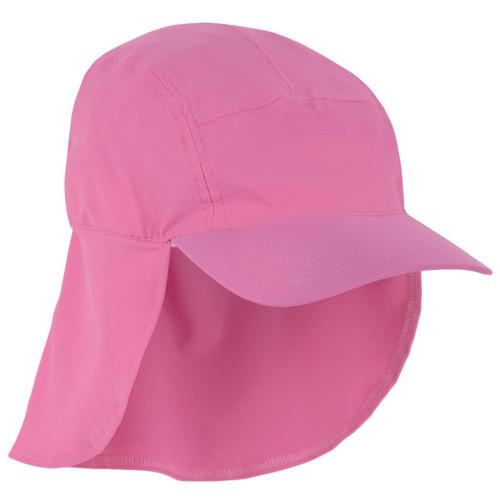 Girls Sun Busters UV legionnaire hat flamingo