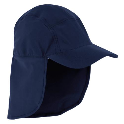 Boys Sun Busters UV Legionnaire Hat Navy  d6f7ca4b6a3