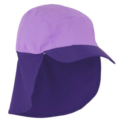 Girls Sun Busters UV legionnaire hat mimosa combo