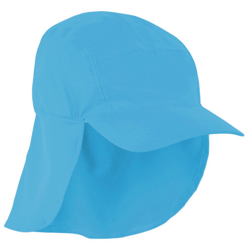 Girls Sun Busters UV legionnaire hat bluebell