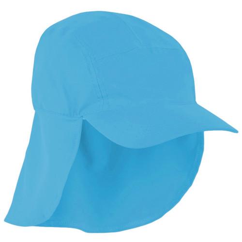 Girls Sun Busters UV legionnaire hat bluebell