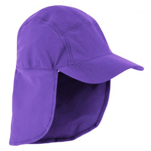Girls Sun Busters UV legionnaire hat blackberry