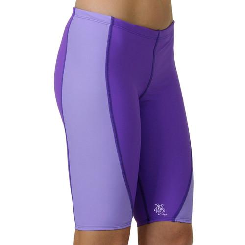 Womens Tuga UV Jammer swim shorts purpleberry