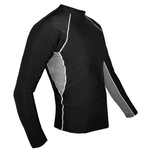 Tuga Mens Long sleeve UV Swim short black