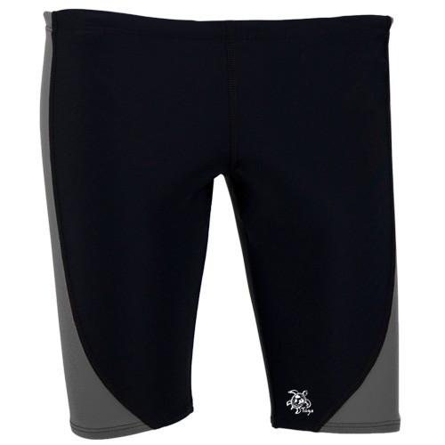 Tuga mens jammer UV swim shorts black