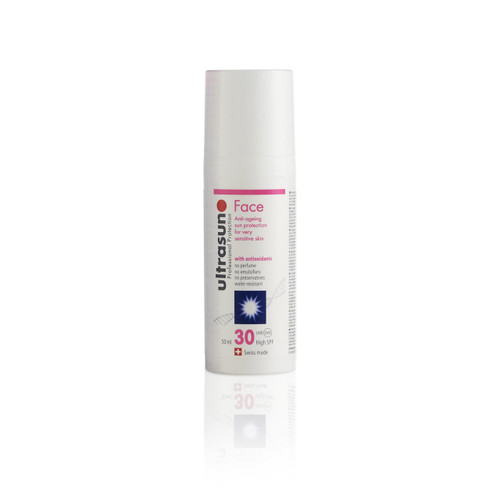 Ultrasun SPF30 anti ageing once a day face sunscreen 50ml