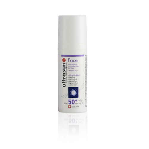 Ultrasun SPF50 anti-ageing once a day face sunscreen 50ml