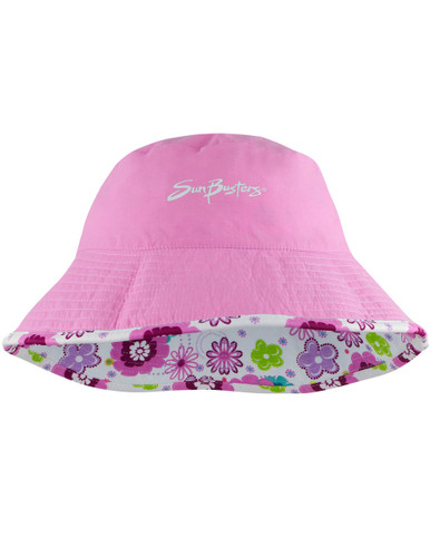 Sun Protection Sun Hat UPF 50 SunBusters Girls Bucket Hat