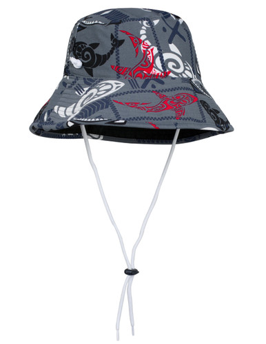 Sun busters Girls UV reversible bucket hat falcon