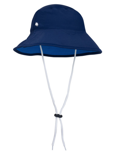 Tuga boys uv reversible bucket hat navy/sky