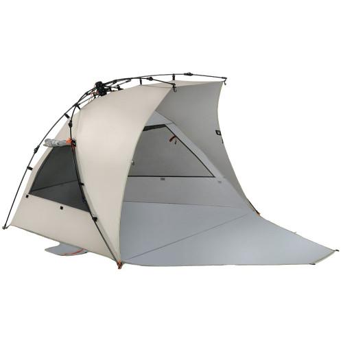 Terra Nation Reka Kohu Plus UV beach tent brown