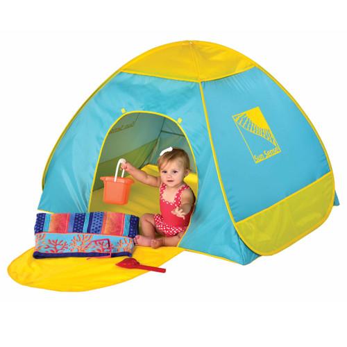 Infant UPF50+ pop up play shade