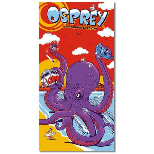 Osprey Octopus beach towel