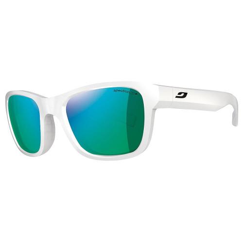 Julbo reach shiny white sunglasses