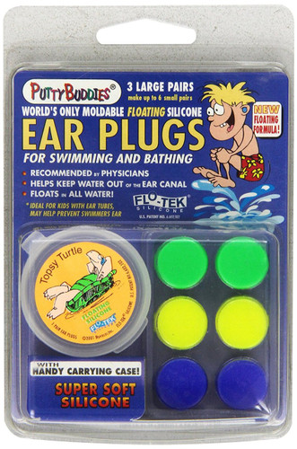 Putty Buddies ear plugs 3 pack