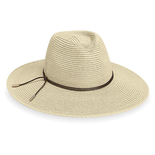 Wallaroo Womens montecito natural UPF50+ sun hat natural