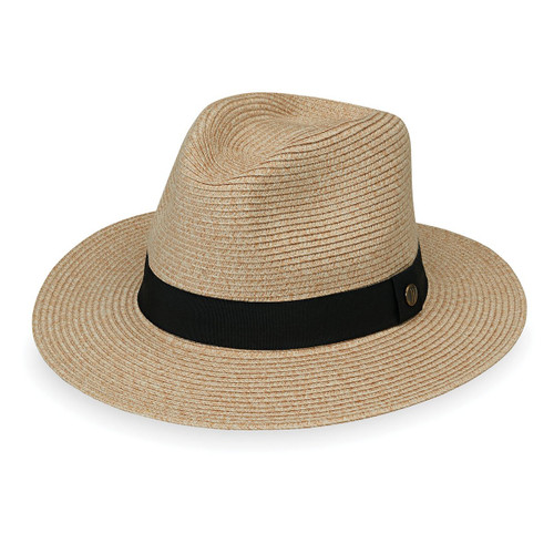Wallaroo Palm Beach UPF50+ fedora hat beige