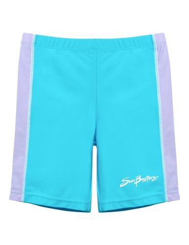 Girls sun busters maui blue jammer swim shorts upf50