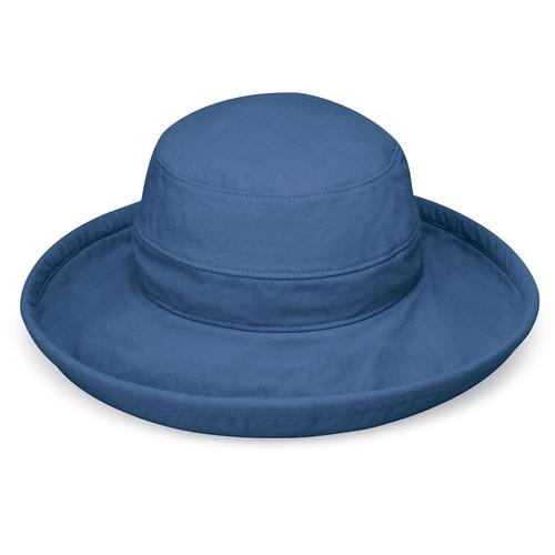 Wallaroo Casual traveler canvas upf50+ slate blue