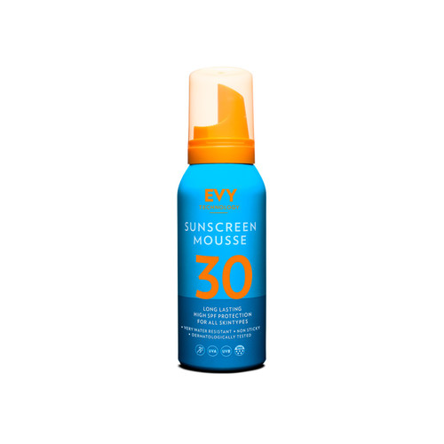 Evy sunscreen mousse spf30 100ml