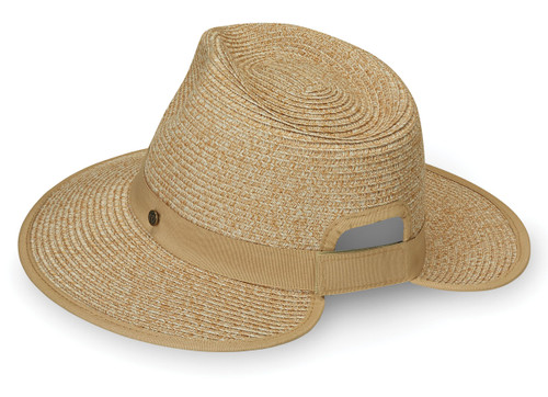 Wallaroo Gabi pony-tail hat beige