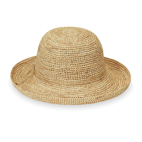 Wallaroo petite catalina natural sun hat