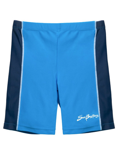 Boys Sun Busters rash swim shorts dusk blue