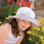 Girls 4-8yr Wallaroo UV Sophia Hat (UPF50+)