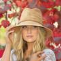 Womens Wallaroo Malibu fedora sun hat