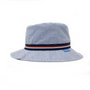 wallaroo boys blue stripes sawyer hat upf50 side