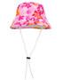 Sun busters Girls UV reversible bucket hat taffy
