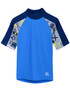 Boys tugs short sleeve uv swimshirt rash vest fanatic