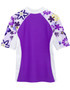 Girls Tuga seaside UV swim shirt agate back