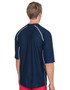 Tuga Mens short sleeve UV Swim short navy