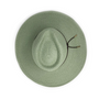 Wallaroo Womens montecito natural UPF50+ sun hat sage top