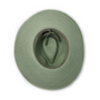 Wallaroo Womens montecito natural UPF50+ sun hat sage bottom