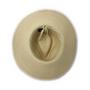 Wallaroo Womens montecito natural UPF50+ sun hat natural bottom