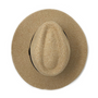 Wallaroo Palm Beach UPF50+ fedora hat top